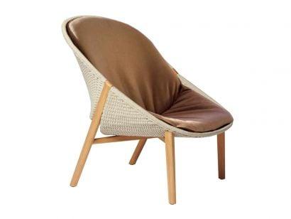 Elio Lounge Chair Tribù by Yabu Pushelberg