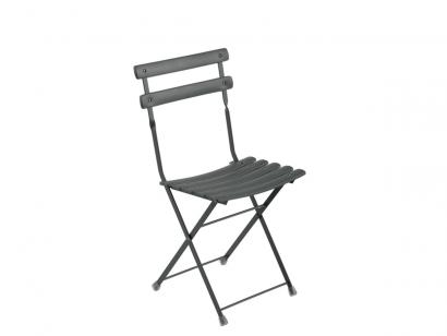 Arc En Ciel Folding Chair-Graphite