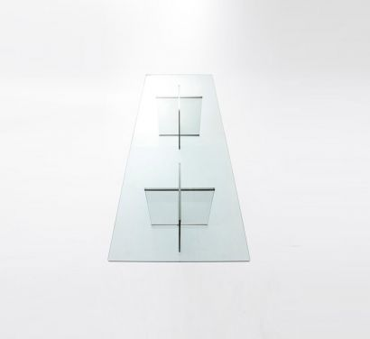 Eros Table Crystal Transparent Thickness 19 mm