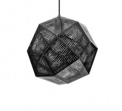 ETCH Shade Black Hanging Lamp
