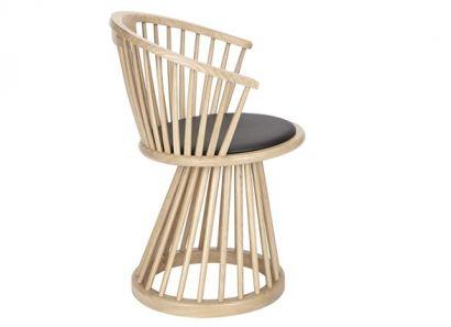 Fan Chair Natural Oak
