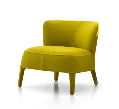 Febo Apta Armchair One-color Low Backrest