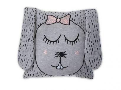 Little Ms. Rabbit Cushion