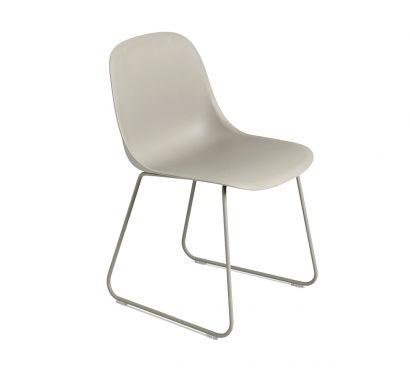 Fiber Chair - Sled Base