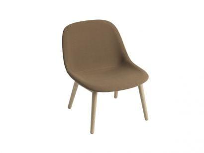 Fiber Lounge Chair / Base in Legno