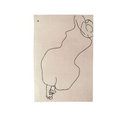 Chillida Figura Humana 1948 Tapis