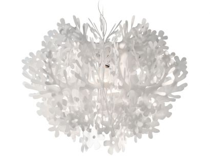 Fiorella Mini Suspension Lamp - White Slamp