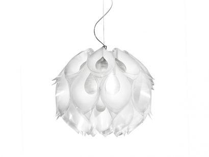 Flora Medium Suspension Lamp - White Slamp