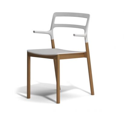 Florinda chair with armrests