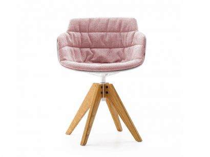 Flow Slim Chair MDF Italia by Jean Marie Massaud