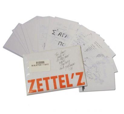 Zettel'z 5 Paquet De Feuilles A5