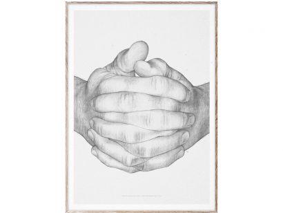 Folded Hands Print
