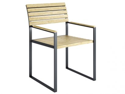Roshults - Garden Bistro Chaise exterieur