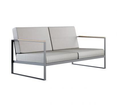 Garden Easy Sofa 2 Seat
