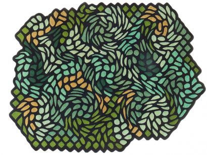 Garden of Eden Rugs Collection - Free Shape