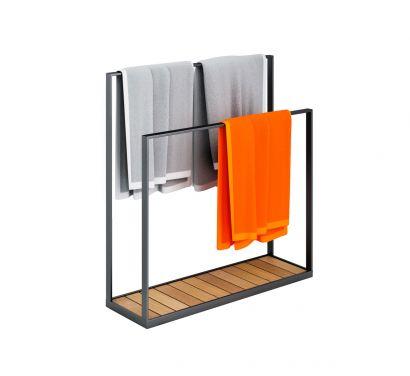 Garden Floor Towel Hanger Outdoor