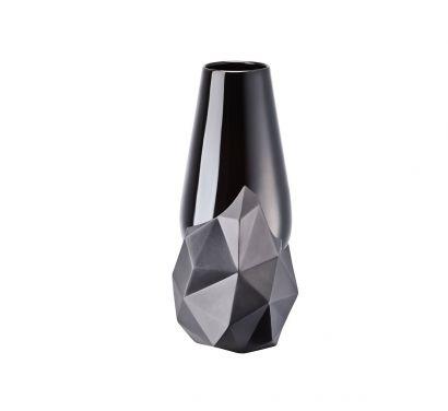 Geode Vase - Black