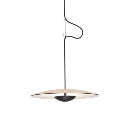 Ginger Suspension Lamp - Oak Ø. 32