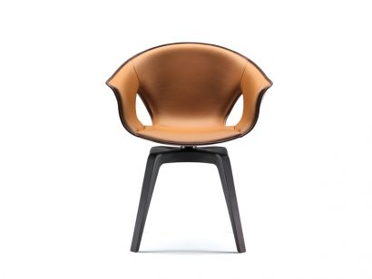 Ginger Armchair - Saddle Extra/Leather Frau®