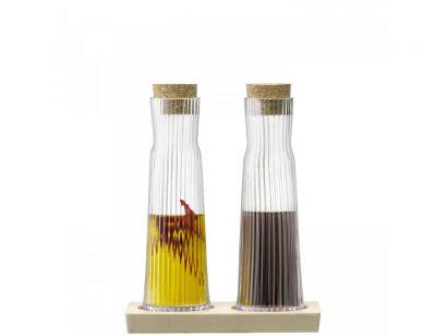 GIO LINE Bottle Set Cork Stoppers Beech Base 200ml