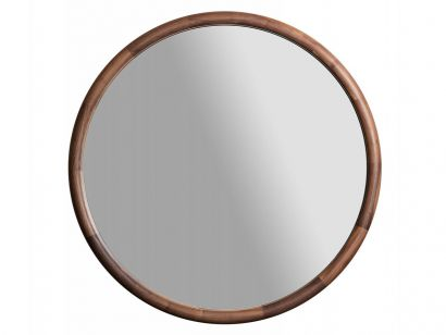 Giove Mirror - Canaletta Walnut