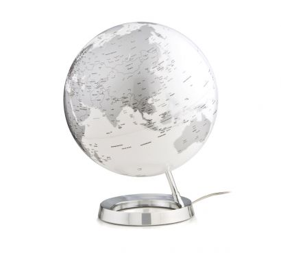 Light & Colour Bright Chromed Globe