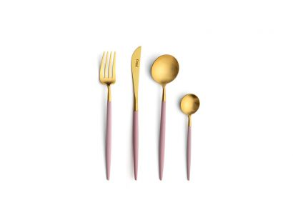 Goa Pink Gold Cutlery Set