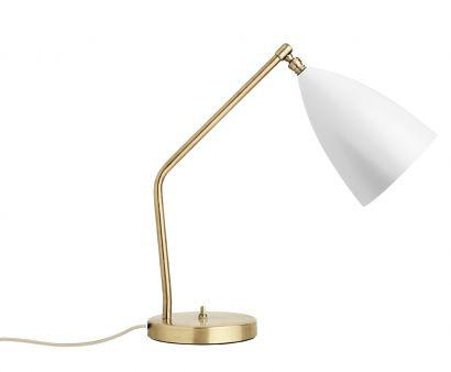 Grossman Gräshoppa Lampada da Tavolo Bianco