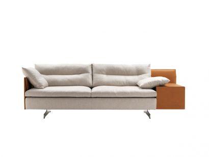 Grantorino 2 Seater Asymmetrical Large Sofa High/Low Arms