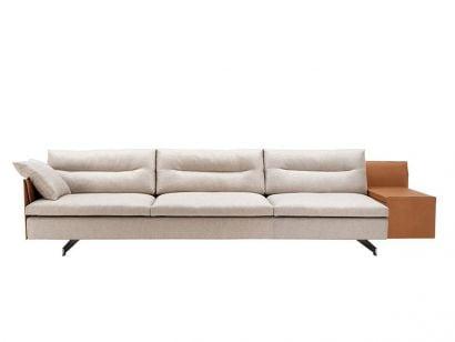 Grantorino 3 Seater Asymmetrical Sofa High/Low Arms