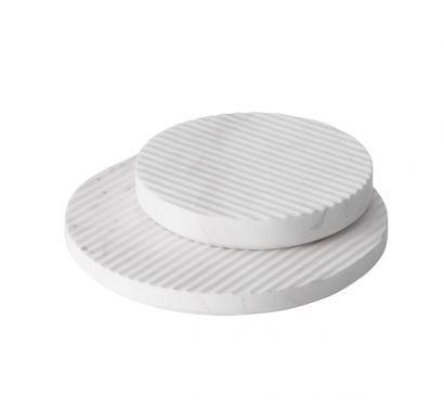 Dessous de plat en marbre Groove