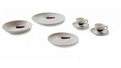 LC Porcellane Service Prunier - Servizio da Tavola