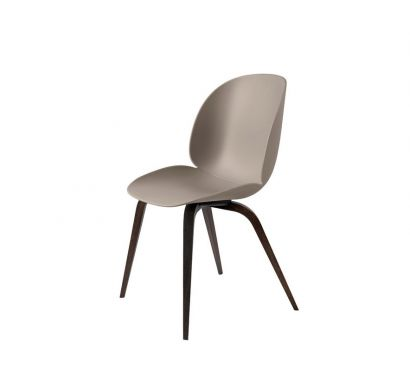 Beetle Unupholstered Dining Chair - Wood Base