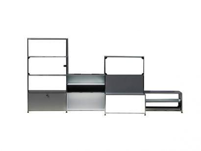 Haller E Glass 3 Bookcase