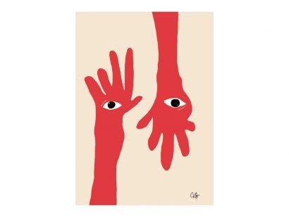 Hamsa Hands Print