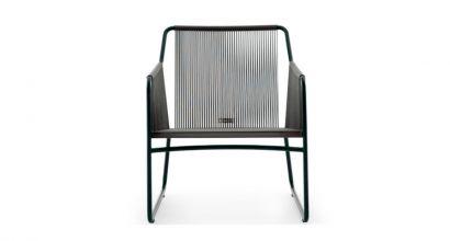 Harp 368 Lounge Chair smoke