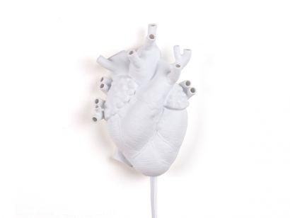 Love in Bloom - Heart Lampada da Parete