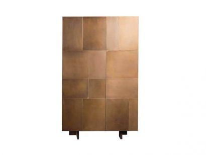 Slim Side Vertical Bar Cabinet