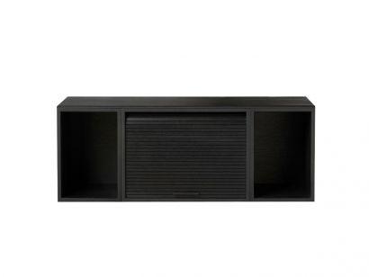 Hifive 100 Rayonnage et Système de Rangement Mural - Chêne Noir