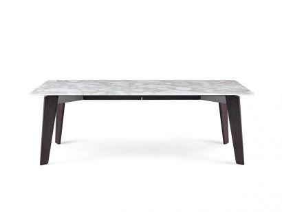 Howard Table - Wood/Marble