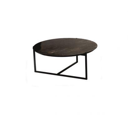 Icaro Tavolino Rotondo Ø109 cm - Quartzite Geode