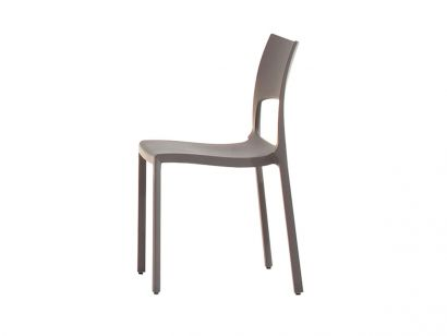 Idole Stackable Chair - Dove Grey