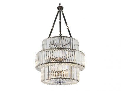 Chandelier Infinity Triple Suspension Lamp