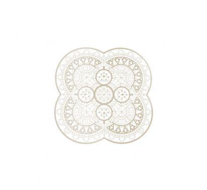 Italic Lace Sottopiatto a Petalo Ø 33 cm Bianco