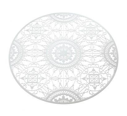 Italic Lace Sottopiatto Ø 34 cm Bianco