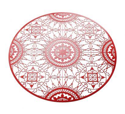 Italic Lace Sottopiatto Ø 34 cm Rosso