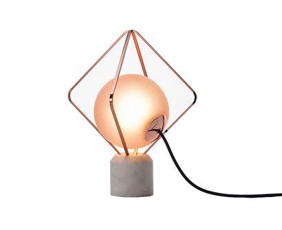 Jack O' Lantern Small Table Lamp