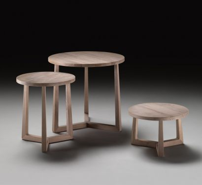 Jiff Tavolino-Frassino Naturale-Ø 40 - H. 46 cm