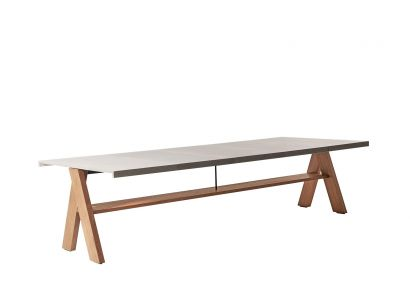 Meridiani Joi Open Air Dining Table