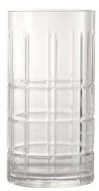 Longdrink Glass Big Check